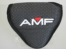 NEW AMF Pointed Grey/Black Mallett Style Headcover w/adjustable closure (B423)