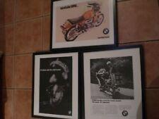 BMW 3 Posters /2 Police Bike, R69S R90S Cutaway Vintage Airhead motorcycle