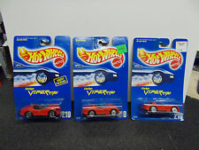 1992 HOT WHEELS #210 DODGE VIPER RT/10 RED WITH SILVER ULTRA HOTS LOT OF 3