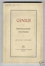 Genius - Rheinische Bilder und Studien   1947