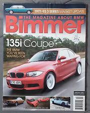 BIMMER BMW MAGAZINE 2007 FEBRUARY #52 135i M M3 E92 E90 E46 E30 E36 F13 E24