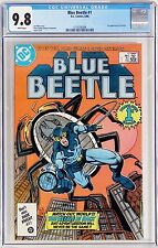 Blue Beetle #1 (Jun 1986, DC) CGC 9.8 NM/MT 1st appearance Firefist WHITE Pages