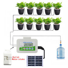 KF_ Solar Powered Automatic Watering Device timer System Gardening Irrigation