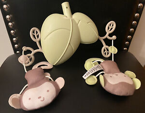 Fisher Price Little Snugamonkey Bouncer Hanging Leaf Plush Toys Replacement Part