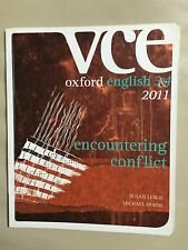 VCE Oxford English 3 &4 2011 Encountering Conflict By Susan Leslie Study Guide