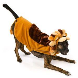 Lion Halloween Dog Pet Costume Large (New)