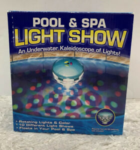 LED Underwater Light Show for Pool & Spa 10 Settings Auto Shut Off NEW