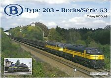 NicolasCollection 978-2-930748-19-1 Buch SNCB NMBS Type203 Reeks/Série53 Neu+OVP