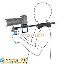 【AU】RL-04 Handheld Stabiliser Rail Shoulder Support System For Canon Nikon DSLR