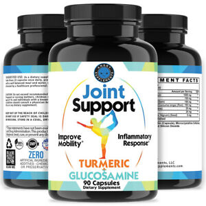 Angry Supplements Joint Support Turmeric Glucosamine Anti Inflammatory Mobility