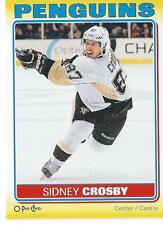 2012-13 OPC O-Pee-Chee Stickers SIDNEY CROSBY #S-77 Pittsburgh Penguins