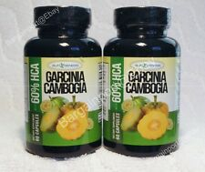 2X ~ SLIM GENESIS BRAND ~ GARCINIA CAMBOGIA ~ Diet Duo Pair ~ LOT of TWO