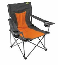Kampa Cocktail Folding Beach Low Chair - Burnt Orange
