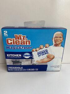 Mr. Clean Magic Eraser Kitchen Dawn Durafoam Cleaning 2 Pads