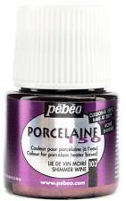 Pebeo Porcelaine 150 Ceramic Paint 45ml- Shimmer Wine New! *SALE*