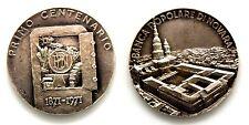 Medaglia Argento 800 Banca Popolare Di Novara Primo Centenario 1871-1971 (S. Joh