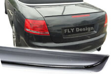 AUDI A4 Tuning RS Stil Slim Heckspoilerlippe neu Spoiler Lippe Bodykit Limousine