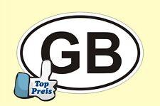 Auto Pkw Kfz Aufkleber Sticker GB Great Britain Großbritannien Länderkennzeichen