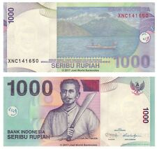Indonesia 1000 Rupiah 2013 Replacement P-141m Banknotes UNC