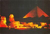 B95436 giza sound of light at pyramids of giza egypt africa