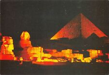 B95436 giza sound of light at pyramids of giza egypt africa