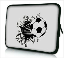 "17-17,3"" LAPTOP SLEEVE CARRY CASE BAG 4 ALL LAPTOPS, FREE POST *FOOTBALL*"