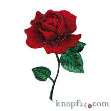 Applikation zum Aufbügeln Rose rot (#76421)
