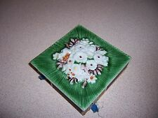 VTG CERAMIC TILE MATCH BOX HOLDER - CREATIONS LUCIANO