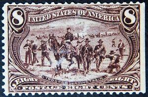 Scott #289 – 8¢ Trans-Mississippi Exposition, M, OG, NH, SCV*=$425
