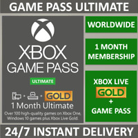 Xbox Live 1 Month Gold & Game Pass Ultimate Membership (2x 14 Days) INSTANT CODE