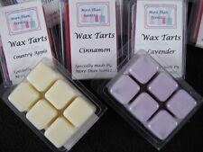 Soy Wax Tarts - 6 break apart cubes for Melting - Many NEW Fragrances Available