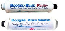 Boogie Blue Filter Combo Both BASIC & Plus Water Filter SAVE $$ W/ BAY HYDRO $$
