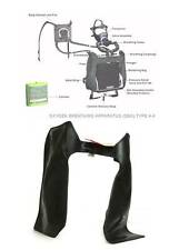 S-TORN MSA Breathing Bag w/ Tube for OBA A-4 US Army Oxygen Breathing Aparatus