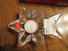 Mikasa - Crystal Clear Comet Votive Candleholder with Votive Candle - New in Box