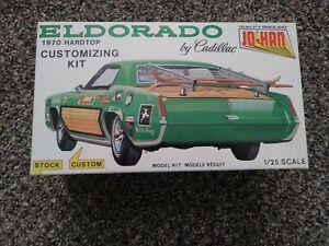 Jo-Han model kit 70 Cadillac Eldorado Hardtop 1970 orange mold 1/25 scale