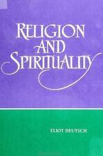 Religion and Spirituality, Deutsch, Eliot, Very Good Book