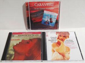 CARAVELLI - Carnet de Bal & Dites-Le Avec Caravelli AUDIOPHILE  +  2 BONUS CDRs