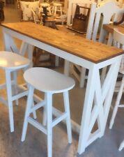 Slim Pine Kitchen Island Breakfast Bar (not Stools)Furniture Showroom In Kent