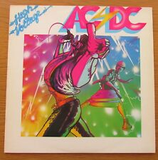 AC/DC High Voltage original uk 1976 vinyle LP Cartoon Manche Atlantique K50257 Arun