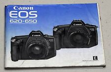 CANON EOS 620 650 Original Camera Guide Manual Instruction Photography Book