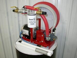 1/2 HP Bulk/Waste Oil Transfer/Filtration Pump,Heaters,Burners, Free Shipping!!!