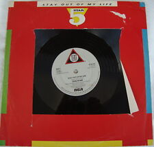 FIVE STAR - STAY OUT OF MY LIFE / IF I SAY YES - RCA MAXI single PT41132