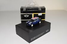 * MINICHAMPS MINI COOPER WITH ROOF FLAG GREAT BRITAIN MET. BLUE MINT BOXED
