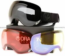 NEW Dragon X2 Goggles-Knight Rider Knightrider Black-3 Lenses-SAME DAY SHIPPING!