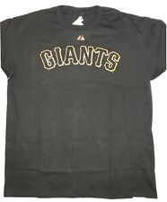 NWT! Majestic San Francisco Giants T-Shirt SF Black Sz Large