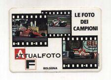 Adesivo ATTUALFOTO Bologna Le foto dei campioni NUOVO sticker Formula 1 Moto AF