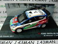 RIT38 voiture 1/43 IXO Altaya Rallye ITALIE : FORD Fiesta RS wrc Hirvonen 2011
