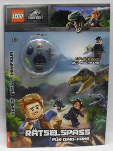 LEGO® Jurassic World: Minifigur ACU Wachmann mit Rätselspaß-Heft