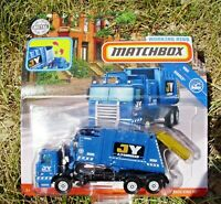 Matchbox 2019 Real Working Rigs FWD56. Garbage King HD. JY Waste Services. GBL01
