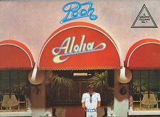 POOH  disco LP 33 giri ALOHA stampa JUGOSLAVA 1984 made in JUGOSLAVIA